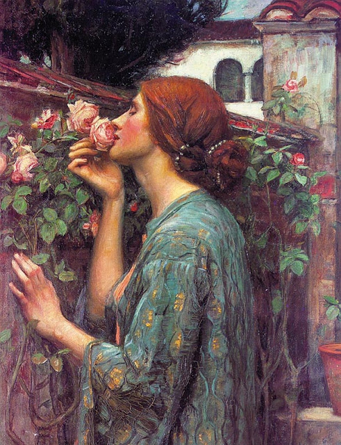 John-William-Waterhouse-The-Soul-of-the-Rose