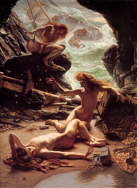 437px-Sir_Edward_John_Poynter_—_Cave_of_the_Storm_Nymphs